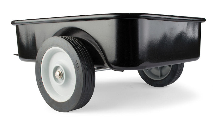 #12994 Black Pedal Tractor Wagon