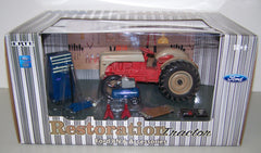 #13780D 1/16 Ford 8N Restoration Tractor with Accessories Set, Dusty Version