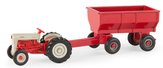 #13917 1/64 Ford NAA Tractor with Flarebox Wagon