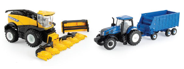 #13924 1/64 New Holland FR920 Self-Propelled Forage Set