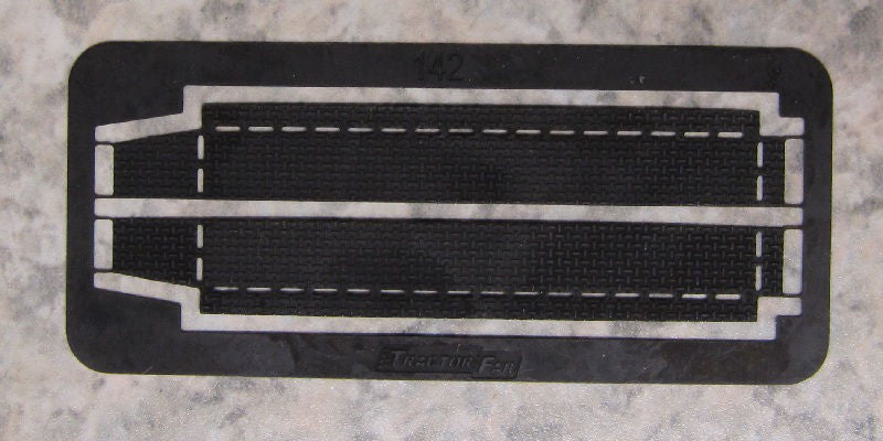 #142P 1/64 Black Pickup Running Boards