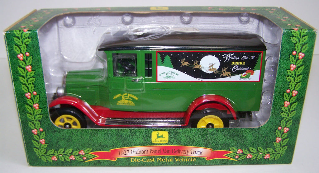 #15028 1/25 John Deere 1927 Graham Panel Van Delivery Truck Bank