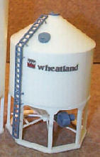 #1610W 1/64 Wheatland Model 1610 Hopper Bottom Grain Bin Kit