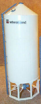 #1630W 1/64 Wheatland Model 1630 Hopper Bottom Grain Bin Kit