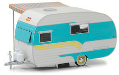 #18450A 1/24 1958 Catolac DeVille Travel Trailer with Awning