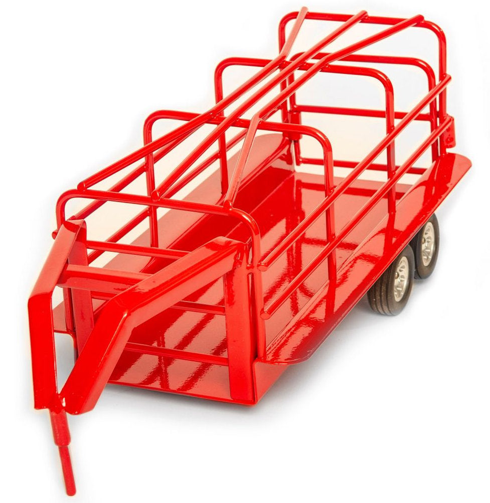 #200841 1/16 Red Gooseneck Ranch Trailer