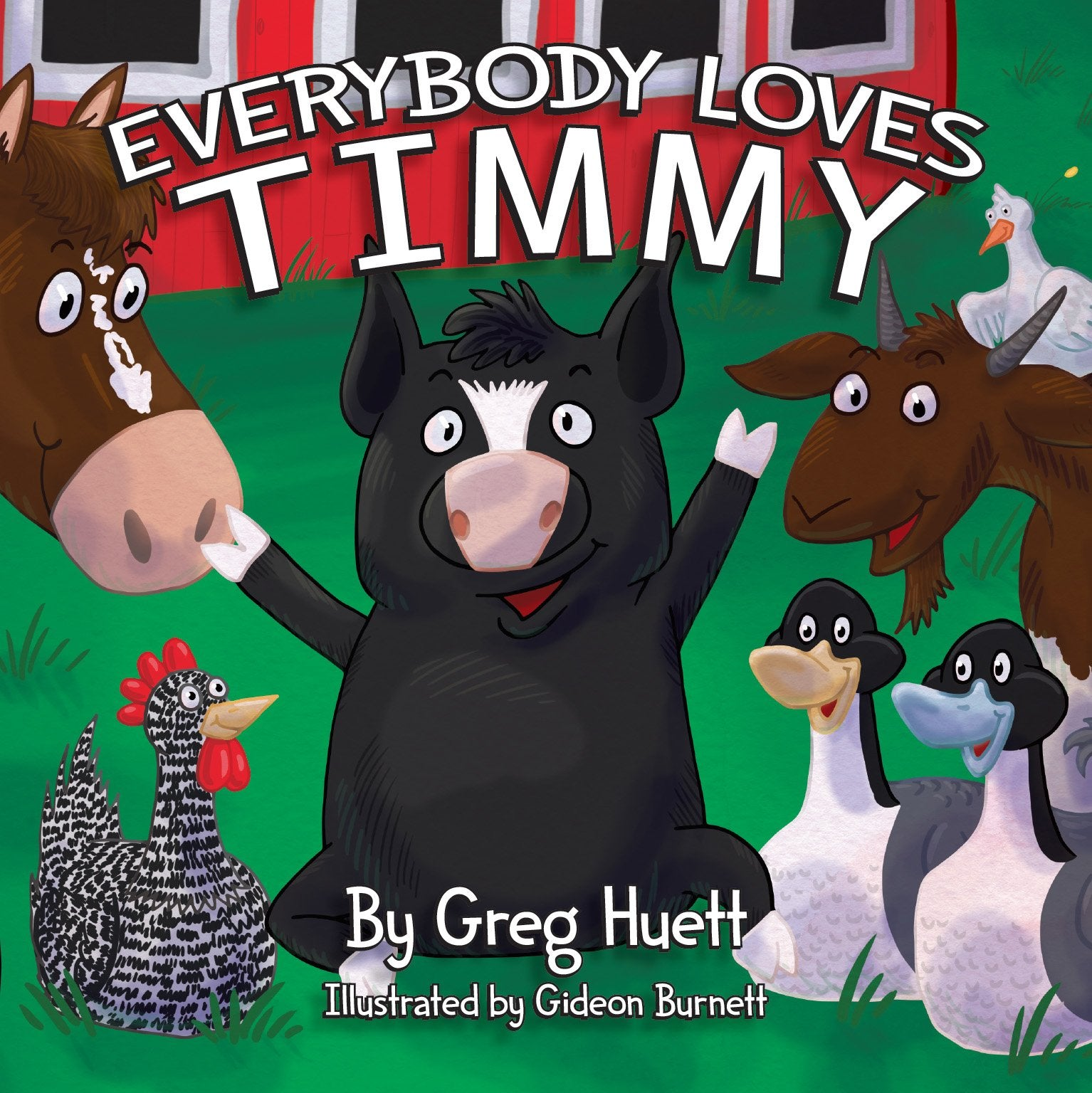 "#200BC ""Everybody Loves Timmy"" Story Book"