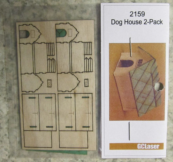 #2159 1/64 Dog House Kit
