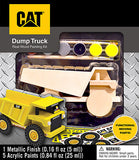 #21717 CAT Dump Truck Wood Painting Kit