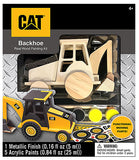 #21718 CAT Backhoe Wood Painting Kit