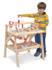 #2369 Wooden Project Workbench