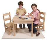 #2427MD Wooden Table & Chairs 3-Piece Set