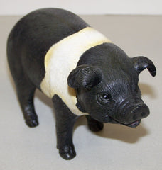 "#2513600A 6"" Resin Pig Standing Figure"