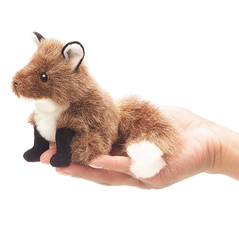 #2644FM Mini Fox Finger Puppet