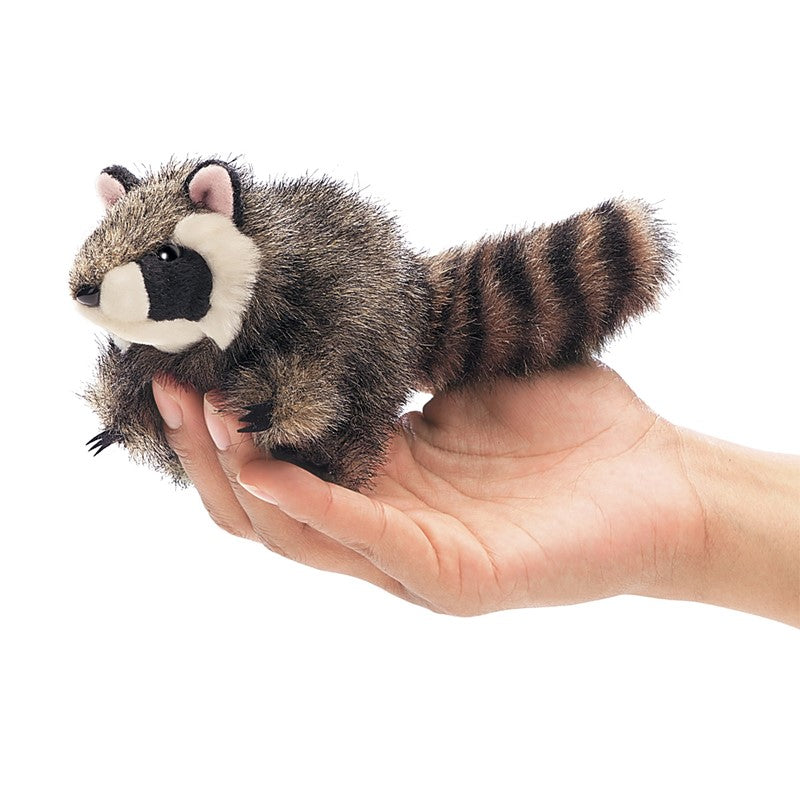 #2646FM Mini Raccoon Finger Puppet