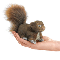 #2735FM Mini Red Squirrel Finger Puppet