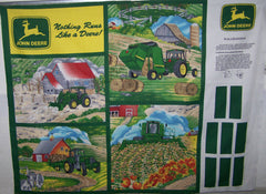 #30153 John Deere Wall Hanging Panel