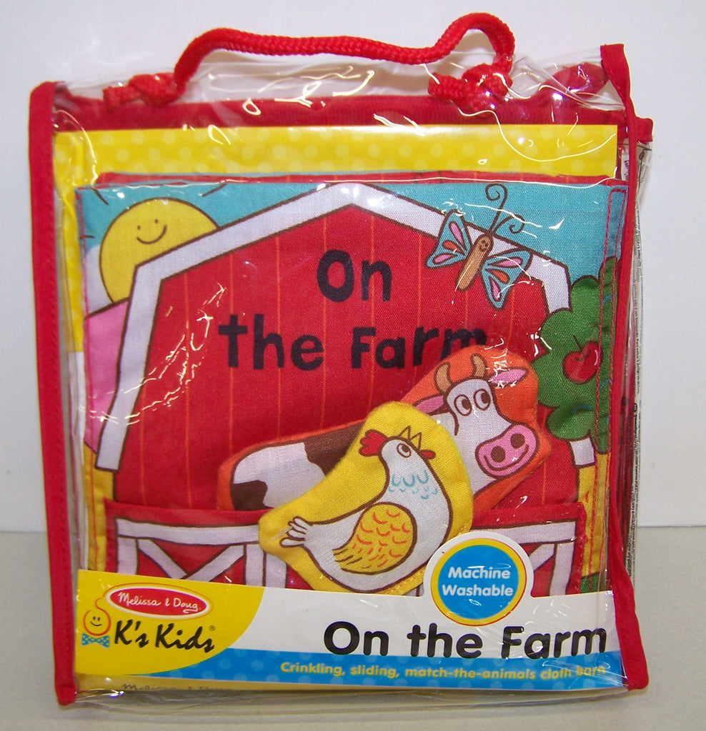#30269 K's Kids On the Farm Cloth Barn Activity Set