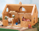 #302 1/9 Deluxe Wood Barn with Cupola