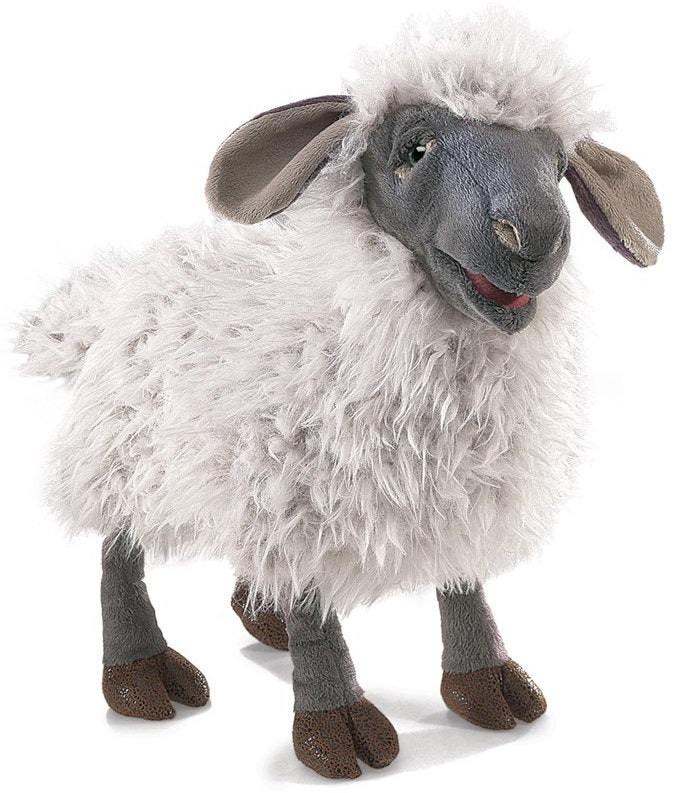#3058FM Bleating Sheep Hand Puppet