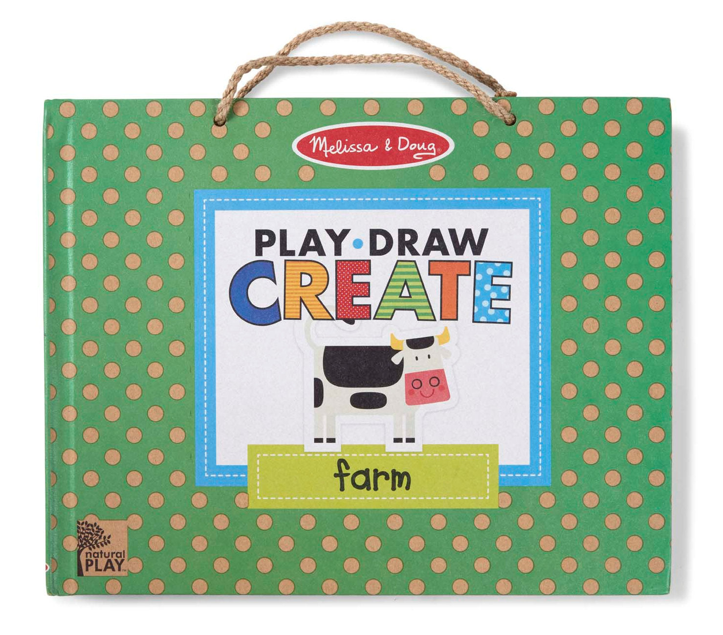 #31325 Natural Play, Draw, Create Farm Fun Reusable Activity Kit