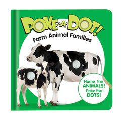 #31353 Farm Animal Families Poke-a-Dot Book