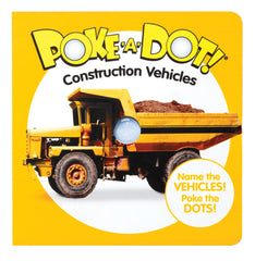 #31533 Construction Vehicles Poke-A-Dot Book