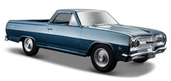 #31977 1/25 Blue 1965 Chevy El Camino