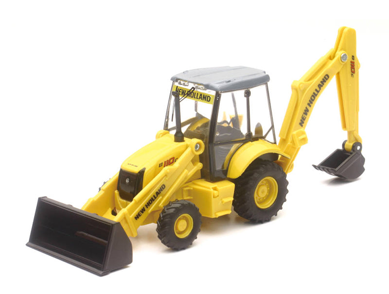 New Ray New Holland Construction Backhoe and Loader B110C 32143