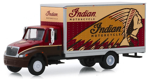 #33170-1 1/64 Indian Motorcycle 2013 International Durastar Box Van