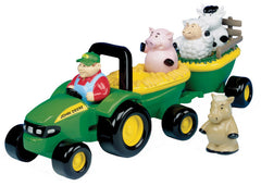 #34908 John Deere Animal Sounds Hay Ride Set