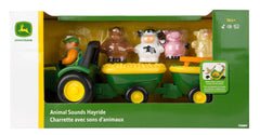 #34908 John Deere Animal Sounds Hayride Playset