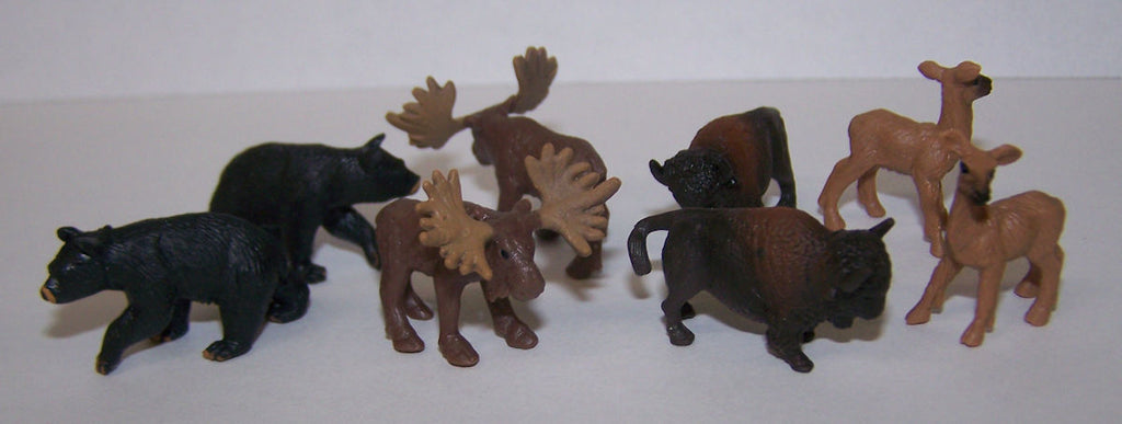 #350009 1/87 Wildlife Assortment, 8 piece