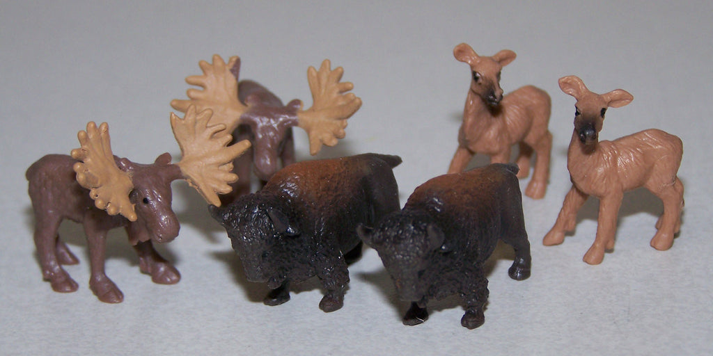 #350010 1/87 Wildlife Assortment, 6 piece
