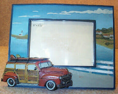 #35092 Vintage Car Picture Frame