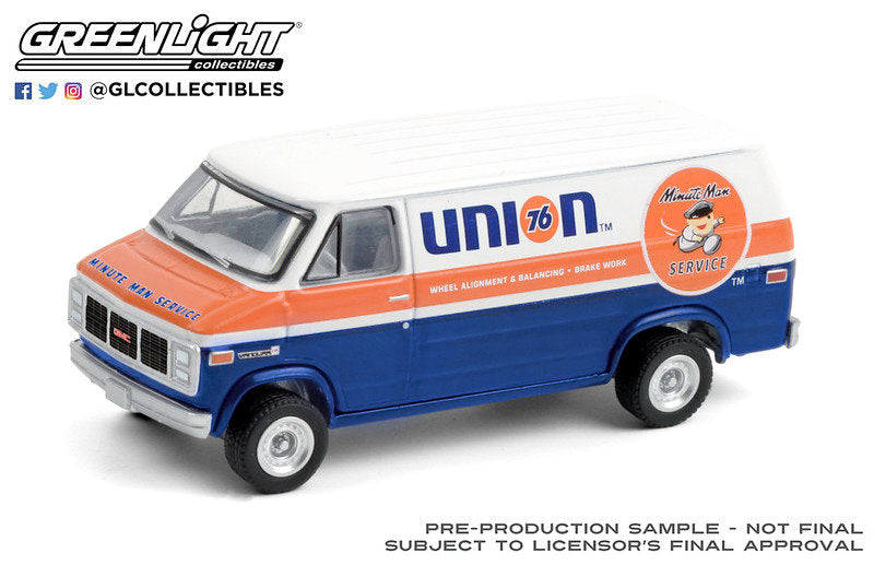 #35180-E 1/64 Union 76 Minute Man Service 1987 GMC Vandura 2500