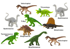 #368022 Mini Dinosaur Assortment, 10 piece