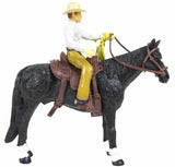 #407BC 1/20 Cowboy with Horse & Saddle
