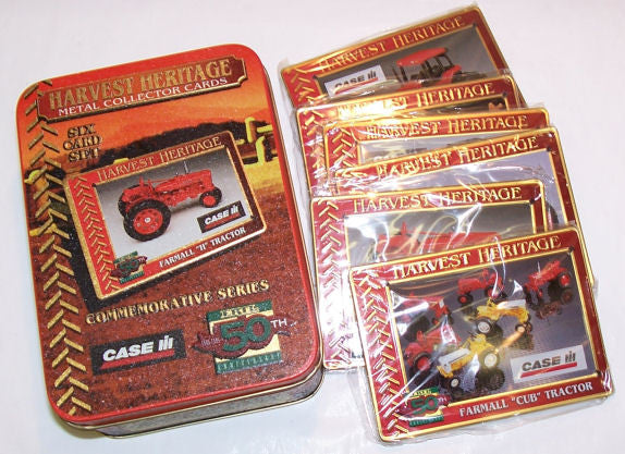 #411 Case-IH Metal Collector Cards