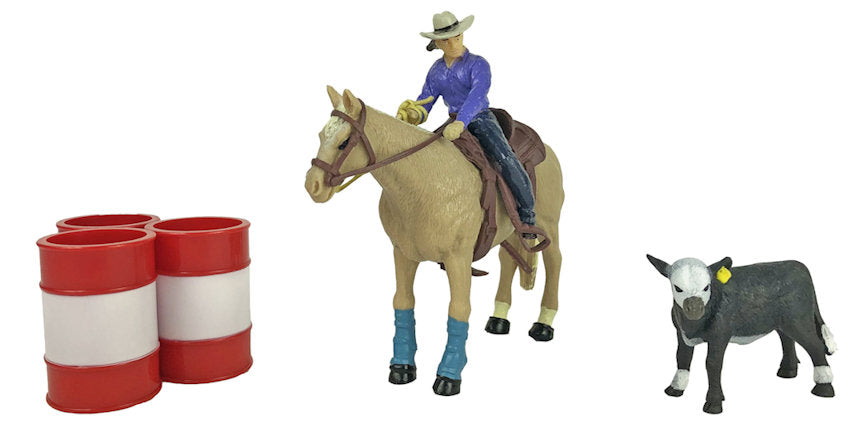 #411BC 1/20 All Around Cowgirl Set