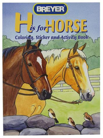 "#4120 ""H is for Horse"" Coloring, Sticker & Activity Book"