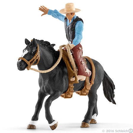 #41416 1/20 Saddle Bronc Riding with Cowboy