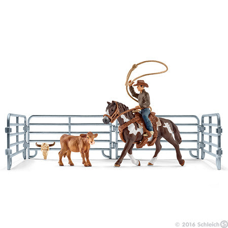 #41418 1/20 Team Roping Set