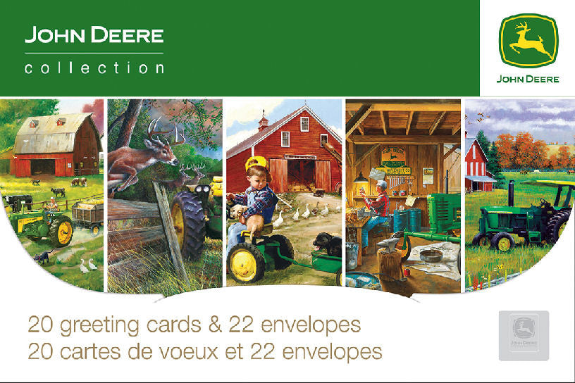 #41419 John Deere Everyday Greeting Card Pack