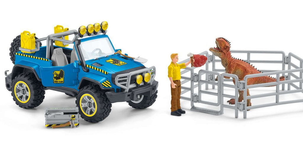 #41464 Off-Road Vehicle with Dino Outpost