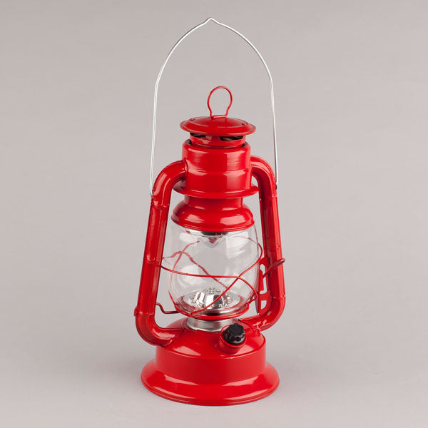 "#41467EG Everlasting Glow Red 11"" LED Hurricane Lantern"
