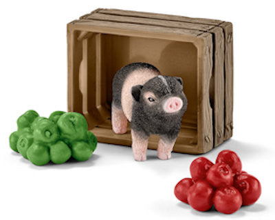 #42292 Mini Pig with Apples