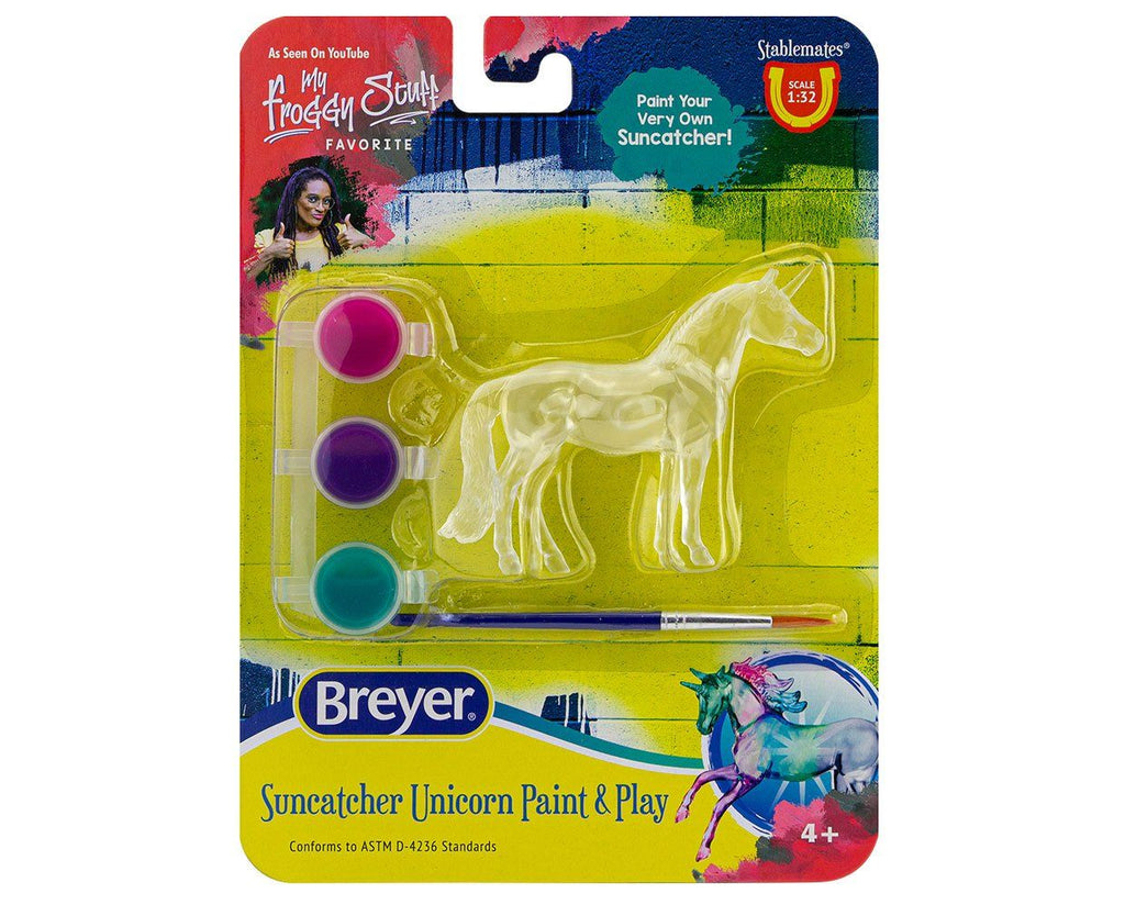 #4231A 1/32 Stablemates Suncatcher Unicorn Paint & Play