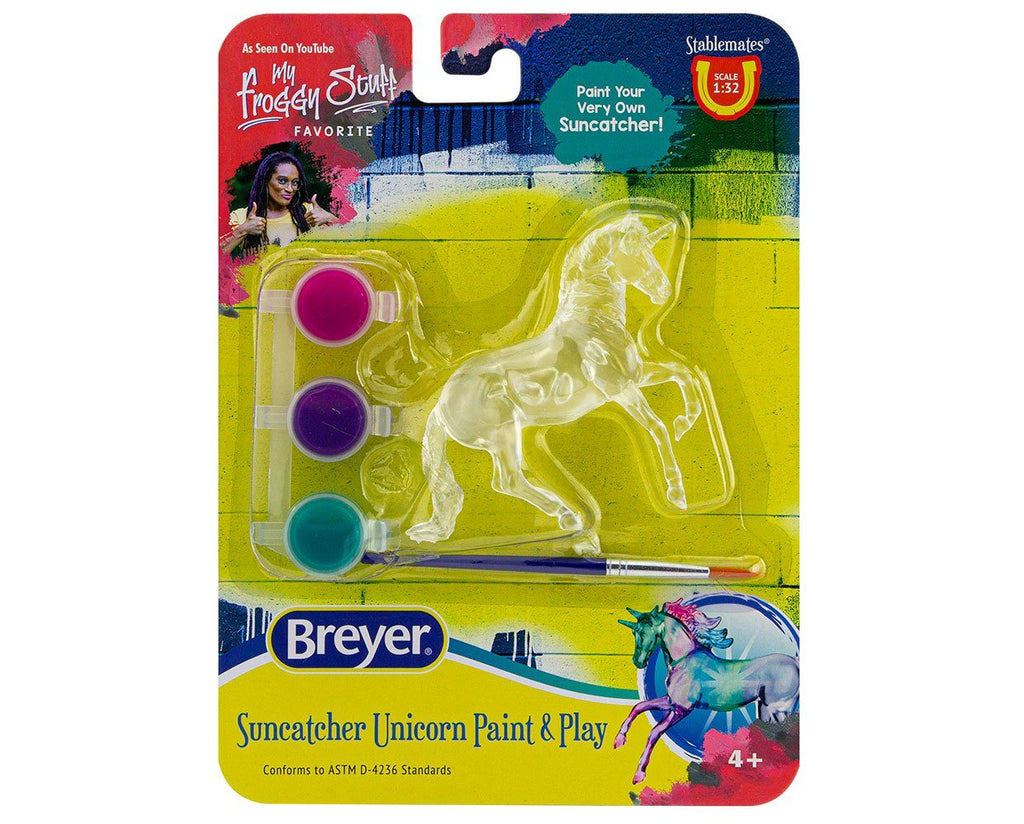 #4231B 1/32 Stablemates Unicorn Paint & Play