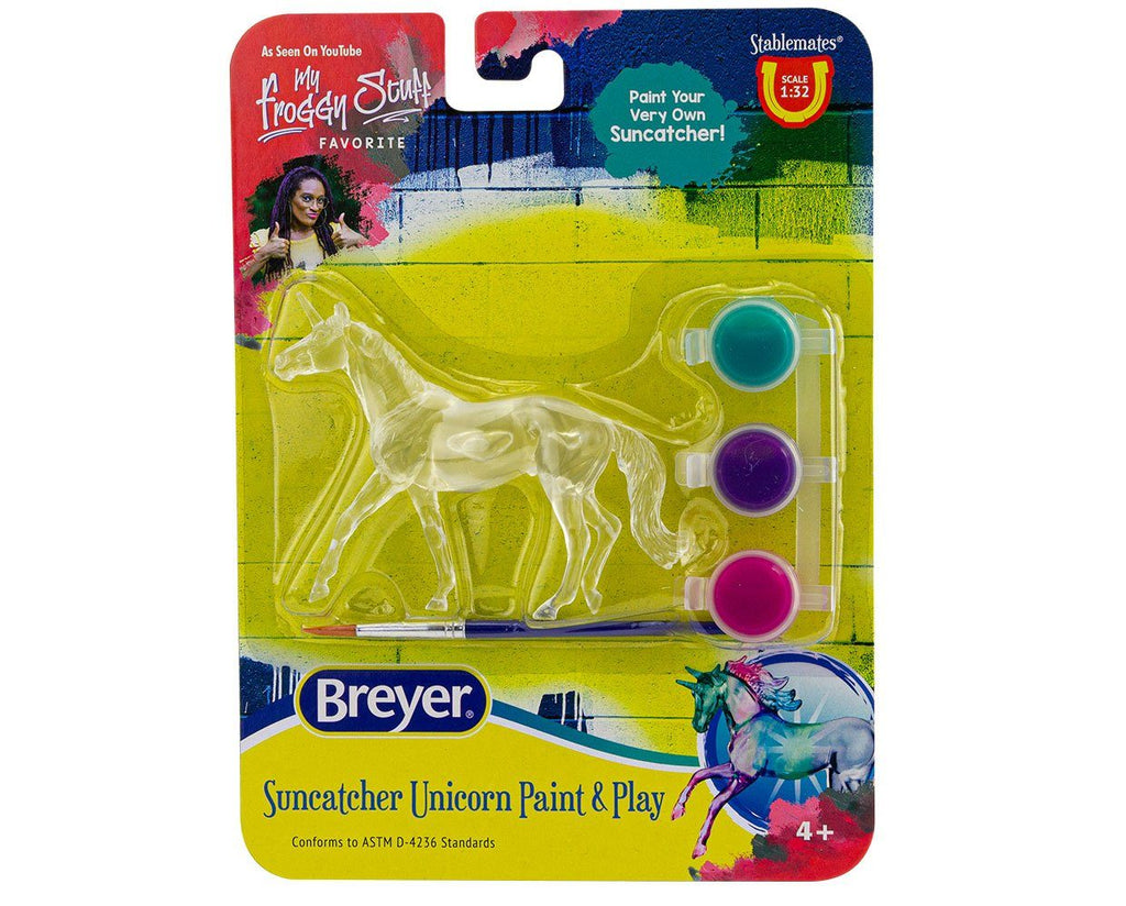 #4231C 1/32 Stablemates Unicorn Paint & Play